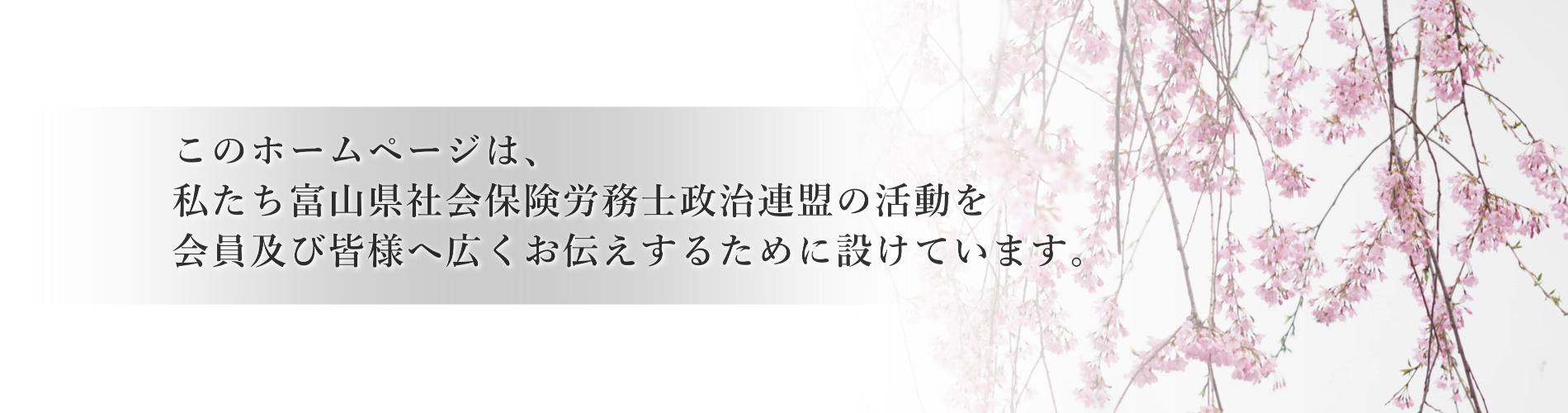 富山県社会保険労務士政治連盟